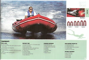 Details about NEW ZODIAC FUTURA Boat Only Sports Boat Inflatable Rib ALL  MODELS Pack Away
