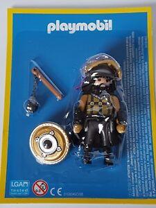 Playmobil-Coleccion-Figura-Caballero-Dorado-con-Armadura-y-Armas-Coleccion-NUEVO