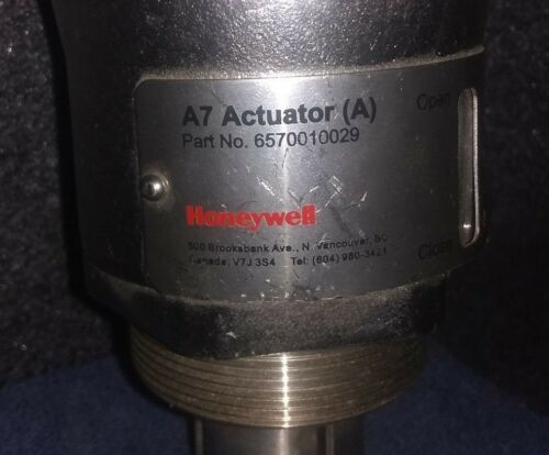 NEW HONEYWELL MEASUREX A7 ACTUATOR A PAPER MILL ACTUATOR # 6570010029