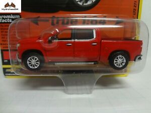 AUTOWORLD AWSP053 B 2019 CHEVROLET SILVERADO LTZ Z71 PICK UP TRUCK 1//64 RED