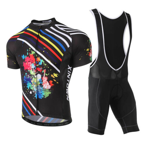 2018 Cycling Bike Clothing set Short Sleeve MTB Bicycle Jersey Shirt Top XR1017