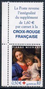 LibéRal Timbre France Neuf N° 3620 ** + Vignette / Croix Rouge / La Vierge A La Grappe Grand Assortiment