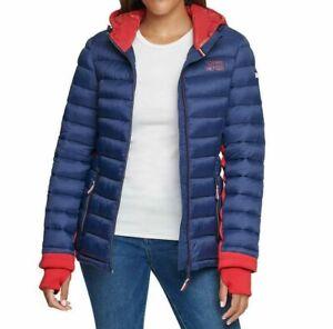 Tommy Hilfiger Damen Jacke, Steppjacke, Quilted Jacket, Große: Small