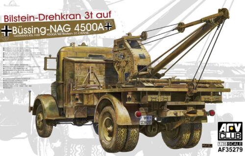 Sd.Kfz.100 Büssing Nag 4500A w Bilstein 3t Crane AFV Club 1:35