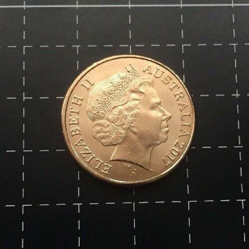 2017 AUSTRALIAN $1 COIN