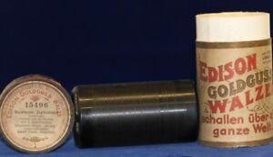 Edison Goldguss Walze Bayerischer Zapfenstreich 15496 Senility VerzöGern Phonographen