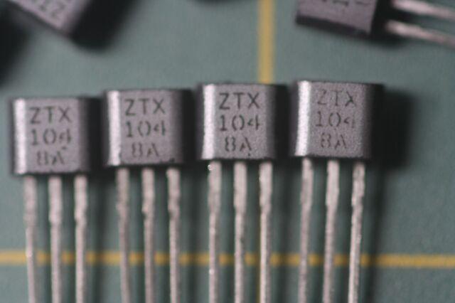 5pcs ZTX849 849 NPN SILICON PLANAR MEDIUM POWER HIGH CURRENT TRANSISTOR TO-92