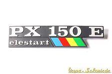 """VESPA Emblem Schriftzug Seitenhaube """"PX 150 E elestart Lusso"""" PX150E Arcobaleno"""