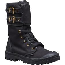 New Women's Palladium Pampa Peloton TW Zipper Boots Size 6 Black 93489-001