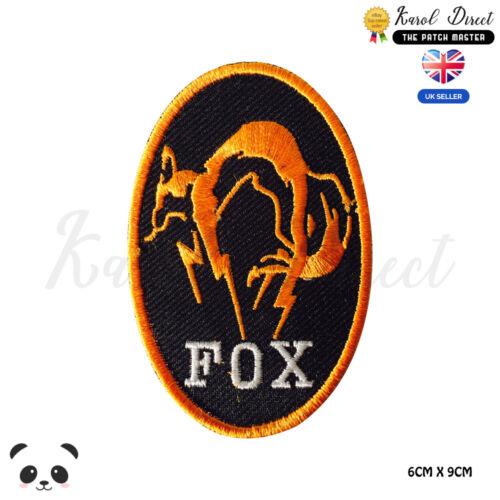Fox Kajima Embroidered Iron On Sew On PatchBadge For Clothes etc