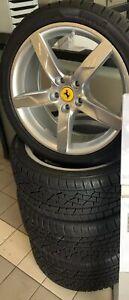 Original Ferrari California Turbo Winterräder Pirelli Sottozero Tpms Sensor Ebay
