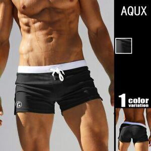 Men-039-s-Swimwear-Low-Waist-Surfing-Trunk-Hot-Shorts-Sexy-Swimsuit-Swimming-Beach