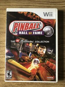 Pinball-Hall-Of-Fame-Wii-Nintendo-Wii-Complete-W-box-amp-Manual