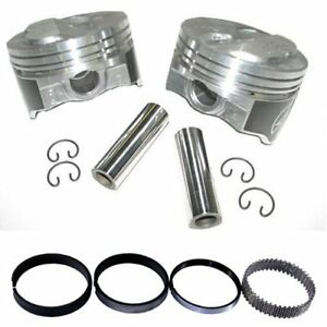 Speed-Pro-H618CP30-Chevy-350-355-125-Dome-Hyper-Pistons-amp-Moly-Ring-Kit-030-SBC