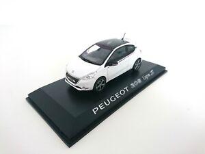Peugeot-208-ligne-S-1-43-NOREV-VOITURE-DIECAST-DEALER-PACK-MODEL-472806
