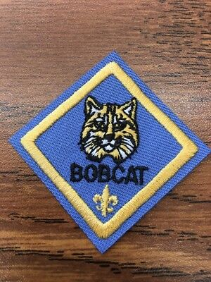 BSA WEBELOS DIAMOND Cub Scout Rank Patch BSA Vintage Stiff MINT