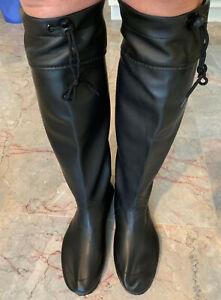 Rare Tall Us7 Boots Eu40 About Uk6 Extra Farm Details Gummistiefel Japanese Black Rubber UVqSpzM