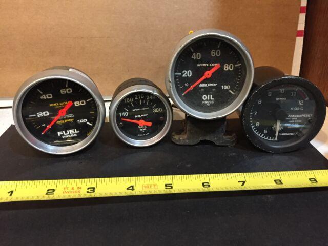Auto Meter Sport 16 U0026quot  Oil Pres  Oil Temp  Fuel
