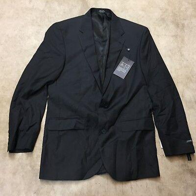NEW NWT mens alfani blazer coat suit jacket regular fit grey 2 button 06-18