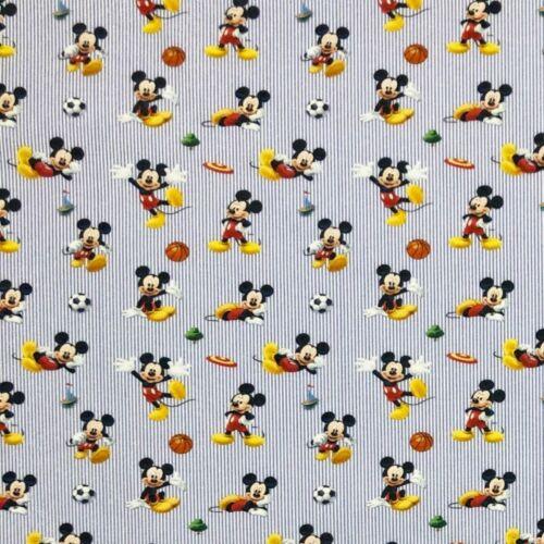 100/% coton Digital tissu Disney Mickey Mouse /& amis Dingo Donald Duck