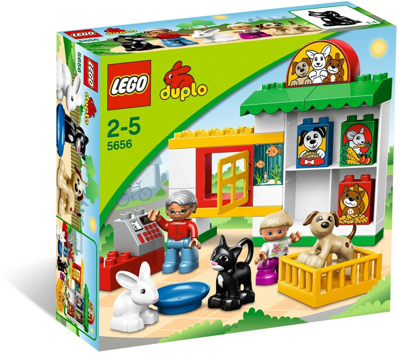 BRAND NEW LEGO DUPLO PET SHOP 5656