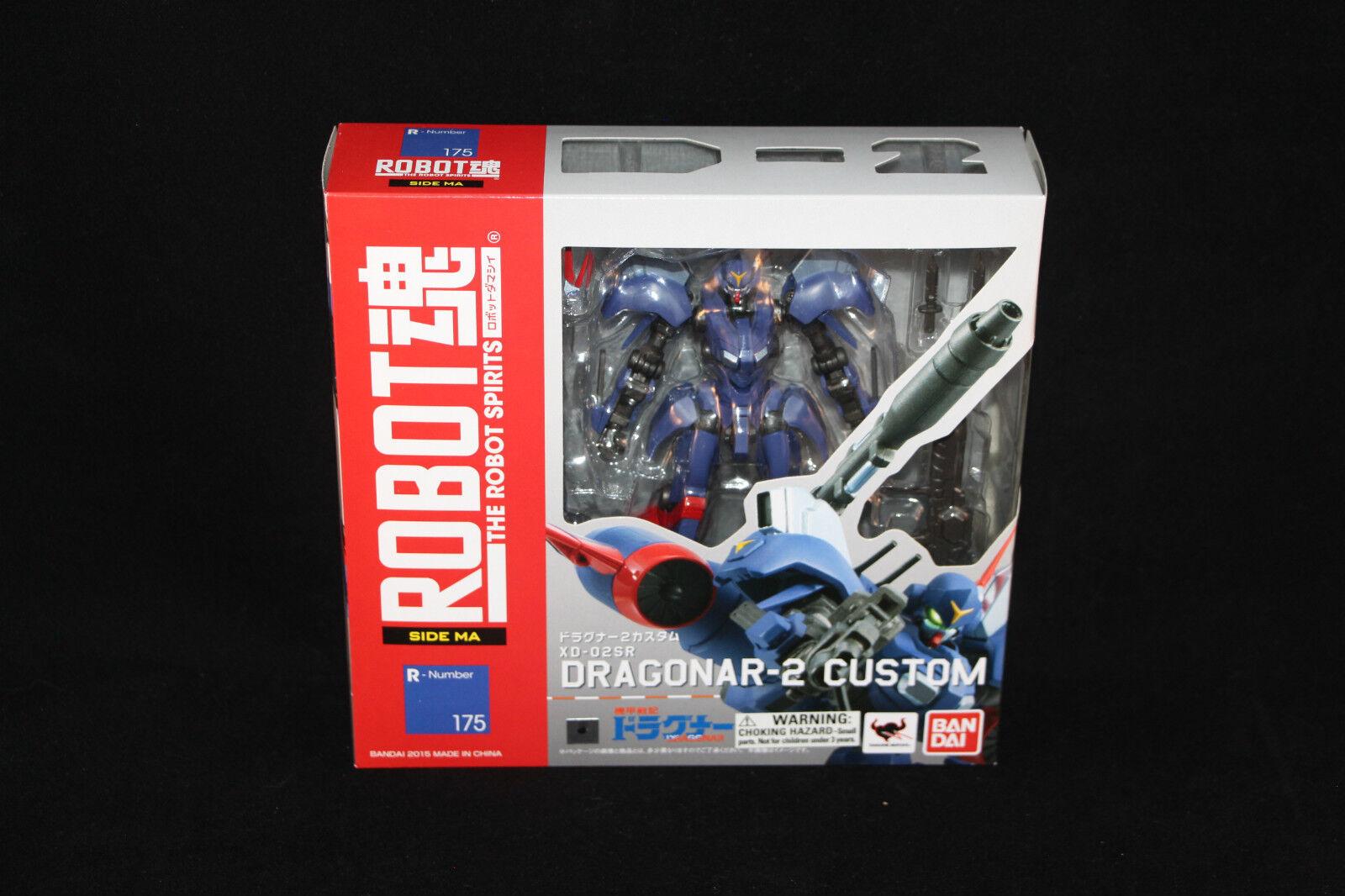 Bandai Robot Spirits Damashii R175 Dragonar-2 XD-02SR XD-02SR XD-02SR New MISB 8edc83