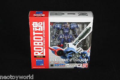 Bandai Robot Spirits Damashii R175 Dragonar-2 XD-02SR New MISB