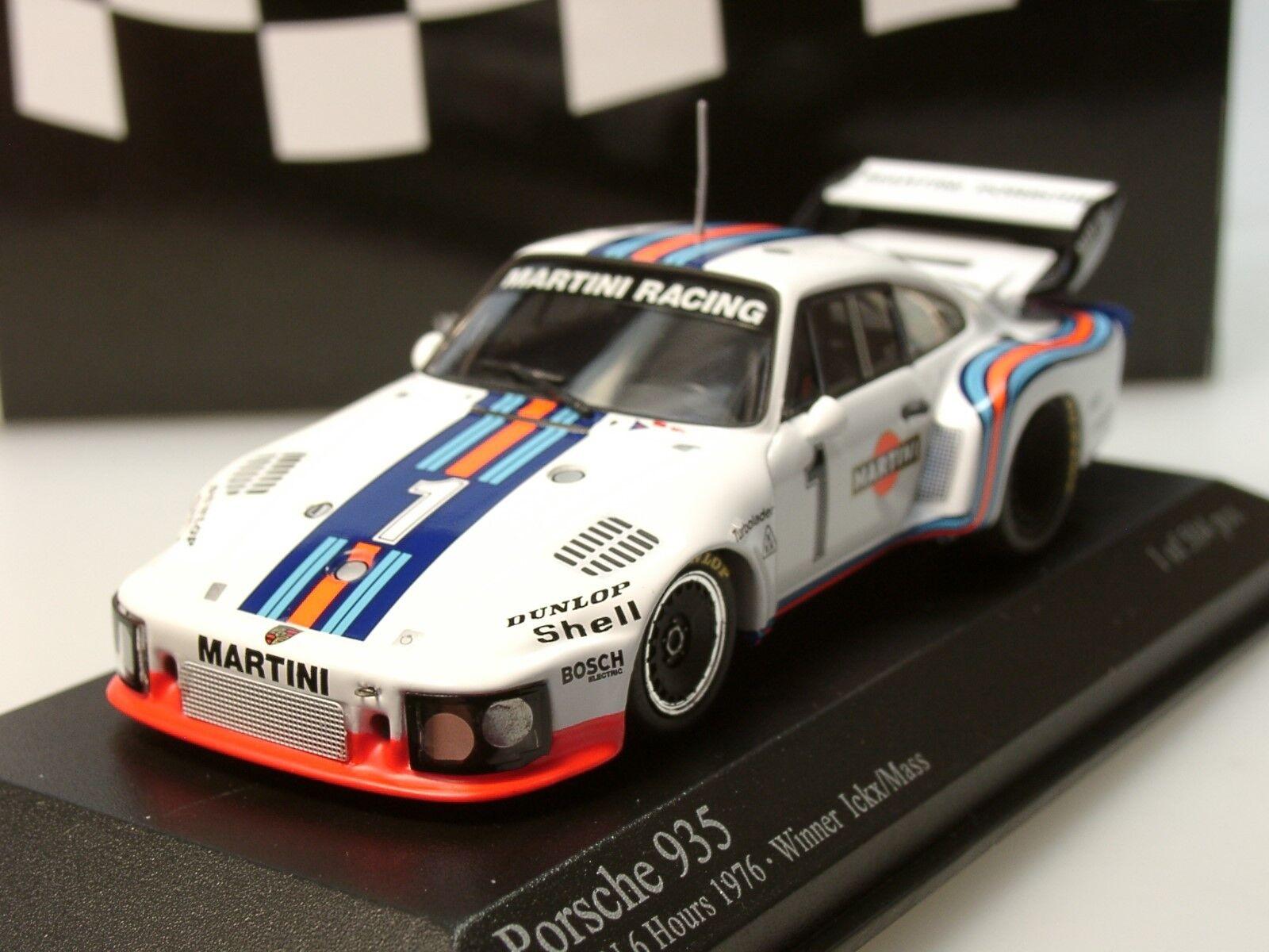 Minichamps PORSCHE 935 Martini,  1, Ickx Mass, vincitore 1976 - 400 7663 11 - 1 43