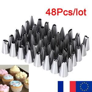 48-pieces-Douilles-a-Patisserie-pour-Poche-a-Douille-Silicone-Jetable-Gateau