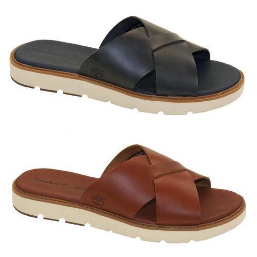 Timberland Bailey Park XStrap Slide Sandal Damen Pantoletten Sandale SensorFlex
