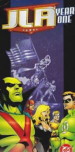 JLA YEAR ONE JUSTICE LEAGUE OF AMERICA RETAILER PROMOTIONAL SIGN 1997