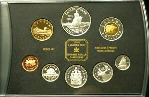 1998-Canada-Proof-Set-039-125th-Ann-of-the-RCMP-039