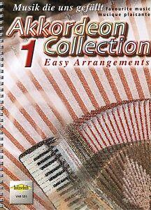 Akkordeon-Noten-Akkordeon-Collection-1-VHR-591-leichte-Mittelstufe