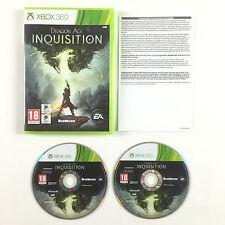 Jeu Dragon Age Inquisition Sur Xbox 360 Console Microsoft