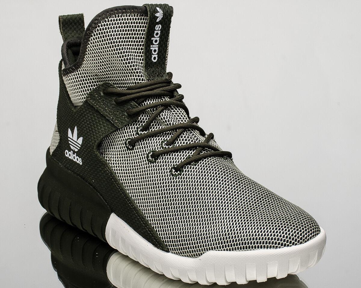 adidas Originals Tubular X lifestyle casual sneakers NEW dark green BA7781