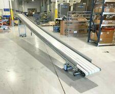 Dorner 3200 Series Incline Belt Conveyor 18 Wide X 23 Long