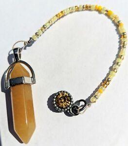 Yellow-Quartz-Pendulum-Reiki-blessed-hand-crafted