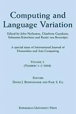 Computing and Language Variation: International Journal of Humanities and Arts C