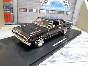 DODGE-Dart-COUPE-GTS-1968-Black-Nero-Muscle-Car-v8-prezzo-speciale-Highway-61-1-43