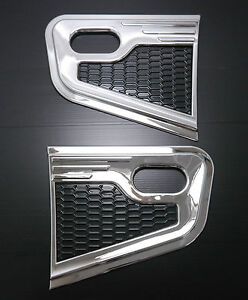 CHROME-SIDE-VENT-INDICATOR-TRIM-FOR-NISSAN-FRONTIER-NAVARA-D40-STX-SX-05-11-09