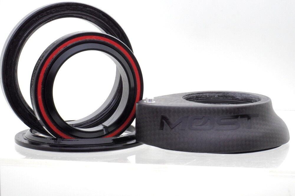 Pinarello Most AERO HEADSET FULL CARBON 1K Weave 15mm Top Cap, New In box