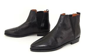 Tommy Hilfiger Schuhe Chelsea Boot Damen Stiefel Stiefeletten Leder Gr 40