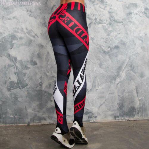 Women Yoga Gym Stretch Trousers Leggings Fitness Jogging Running Sports Pant Lot