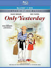 Only Yesterday (Blu-ray/DVD, 2016, 2-Disc Set)