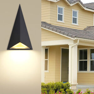Details About Outdoor Lighting 9w Led Wall Sconce Light Fixture Waterproof Lamp Patio Cottage