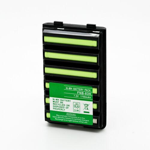 FNB-V57 FNB-83 Battery for YAESU VERTEX VX150 VX160 VX180 VX400 VXA-300