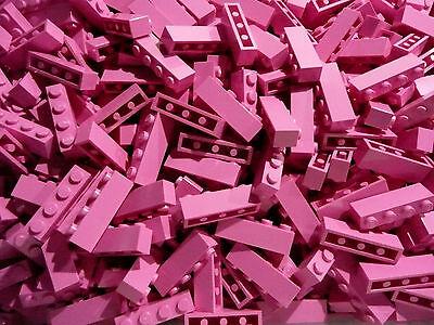 20 Stück Lego® Basic 1x4 Noppen Pink (Lego Friends) Neuware!