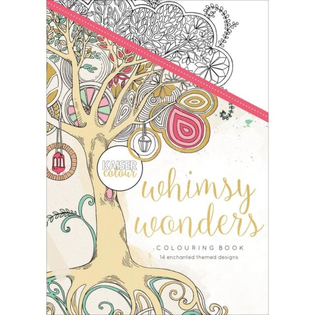 KC - KaiserColour Coloring Book - Whimsy Wonders