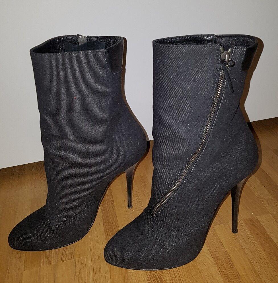 Original Original Original GIUSEPPE ZANOTTI for BALMAIN Ankle Stiefel STIEFEL Stiefeletten SCHUHE 39 d57a62