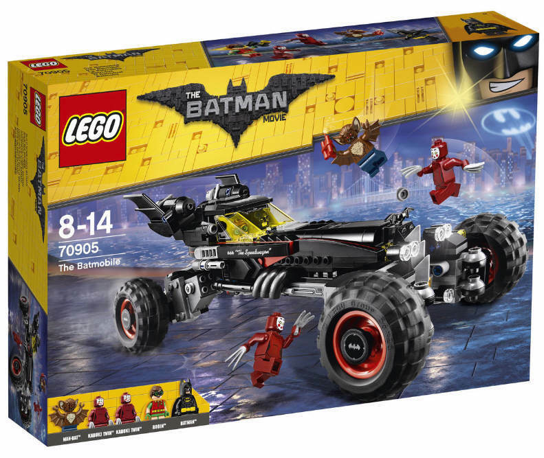 LEGO® THE BATMAN MOVIE 70905 Das Batmobil NEU & OVP Robin Kabuki Zwillinge Man-B